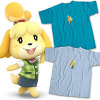Super Smash Bros Ultimate Animal Crossing Isabelle Video Game Unisex Tee T-Shirt