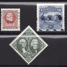 Scott #2587, #2590 & #2592 Used Set of 3, 1994-95 Regular Issue Stamps