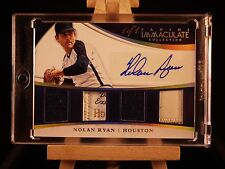 2015 Immaculate Nolan Ryan Auto Quad 4 Prime Patch Laundry Tag one of one 1/1