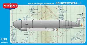 "Mikro Mir 35-016 - 1/35 ""Schwertwal-I"" German Midget Submarine BLACK FRIDAY"