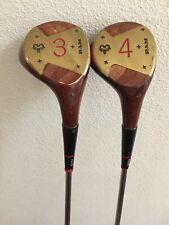 Vintage Ram Gene Littler Registered 3 & 4 Iron Golf Club S/S Flex R MRH