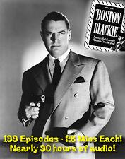 Boston Blackie Radio Program - OTR - Old Time Radio - All Known Episodes - DVD