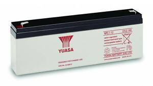 YUASA 12v 2.1ah (as 1.9ah & 2.3ah) Intruder Alarm Battery Rechargeable AGM VRLA
