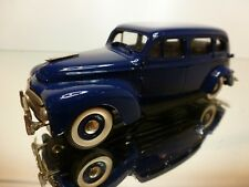 ROBEDDIE 4 VOLVO PV 831 1950 - BLUE 1:43 - GOOD CONDITION - 12