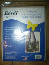 "Bosal In-R-Form Single-Sided Fusible Foam Stabilizer 18"" x 58"""