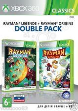 Rayman Legends + Rayman Origins (Xbox 360, 2015) Russian/English version