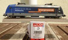 Piko 59451 ho e-Lok br 101 100-6 Stadtwerke DB AG época 5/6 con DSS en OVP, - d -