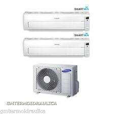 Condizionatore Dual Split Samsung Inverter AR7000M Smart Wi-Fi 9+12 Btu AJ040FC