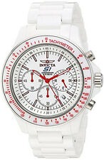 Invicta Men's S1 Rally Chronograph 100m Stainless Steel Ceramic Watch 23834