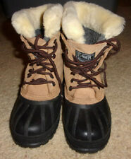 Ranger Women's Winter Snow Boots With Removable Liners Size 5