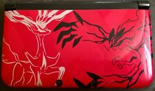 Nintendo 3DS XL Pokemon X and Y Limited Edition Red Handheld System Game Console