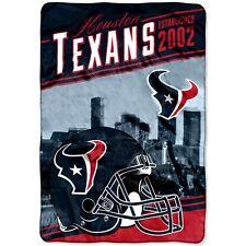 Houston Texans blanket bedding 90x62 lightweight FREE SHIPPING NFL Texans throw