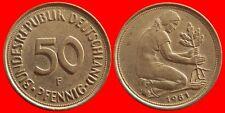 50 PFENNIG 1981F ALEMANIA-556