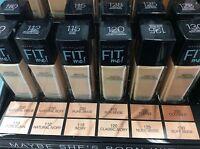 New Maybelline Fit Me Matte Poreless Liquid Foundation Choose Shade