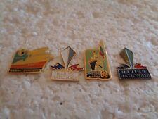 Job lot of 4 Marine National military related metal lapel pins