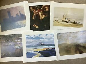 Job Lot of 80 x Art Prints all classic historic art works in pristine condition