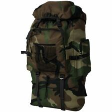 Army-Style Backpack Rucksack Travel Hiking Camping Bag XXL 100 L Camouflage