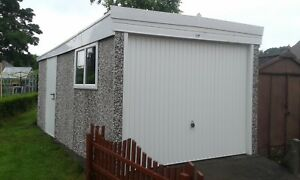 PENT ROOF SINGLE CONCRETE GARAGE - SPECIAL OFFER PACKAGE