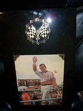 "Alan Kulwicki Wooden Clock ""PLEASE READ BELOW"""