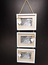"""3 in 1 in legno shabby chic muro cornici (Foto 3,5''x 5"""") Home Decoration"""