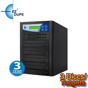 Multimedia Crossover Duplicator PLUS 3 Target DVD/SD/CF/MS/MMC/USB All in one