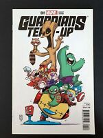 GUARDIANS TEAM-UP #1D MARVEL COMICS 2015 VF/NM SKOTTIE YOUNG VARIANT COVER