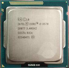 Intel Quad Core i5-3570 SR0T7 3.4GHz 6MB Socket LGA1155 Processor