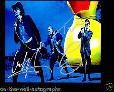 PRIMUS HAND SIGNED AUTOGRAPHED RARE PHOTO BY ALL 3! RARE! WITH PROOF + C.O.A.!