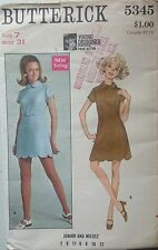 Butterick Teen Dress Sewing Patterns