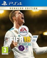 FIFA 18 Ronaldo Edition PS4 New and Sealed