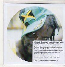 (FJ791) Kalbata & Mixmonster, Congo Beat The Drum - DJ CD