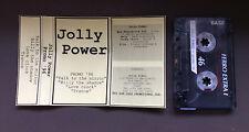 JOLLY POWER - Promo 96' Demo Cassette Tape 4 Track 1996 RARE Italian Glam Rock