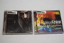 Lot of 2 Sheryl Crow CD's Sheryl Crow And Friends: Live From Central Park