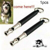 Pets Dog Training Obedience Whistle UltraSonic Flute Trainer Pitch Black So S6C2