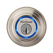 Kwikset Kevo 2nd Gen Satin Nickle Bluetooth Enabled Deadbolt - Pickup Available