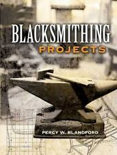 Blacksmithing Projects Book~how to make punches and chisels~Latches~Fences~NEW