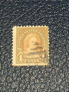 Scott #636 US Stamp 1927 4c Martha Washington Old Used - # 2511