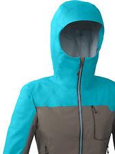 Eddie Bauer First Ascent Rainier Storm Shell Jacket PEACOCK Women's MEDIUM NWT