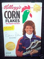 1994 Bonnie Blair Speedskater Kellogg's Corn Flakes Box
