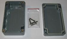 """Bud Industries Enclosure Box - ABS Project Case - 4.5"""" L - PN-1321-DG  PCB Mount"""