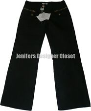 NWT EMILIO PUCCI pants trousers 40 6 $975 designer runway high-end zippers black