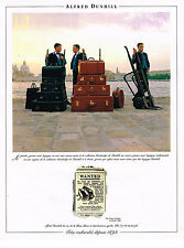 PUBLICITE ADVERTISING 094  1994   ALFRED DUNHILL   bagages valises sacs