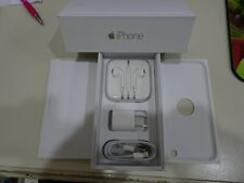 iPhone 6 gold/ white Box and Brand New Accessories (No iPhone)