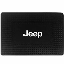 1 Jeep Mopar Elite Logo Black Heavy Duty Cargo Trunk Rubber Floor Mat Universal