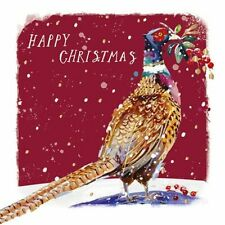 Luxury Christmas Cards - 10 Cards Winter Pheasant - Ling Design