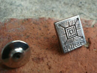 Vintage Sterling Silver BELLCORE Tie Tack Pin Bell Labs Communications Research