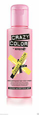Crazy Color Semi Permanent Hair Dye 100ml. 49 Canary Yellow