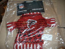 New Knit Official Licensed Atlanta Falcons NFL Sweater  Ornament