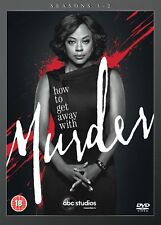 How to Get Away With Murder Season 1-2 [DVD] New Sealed UK Region 2
