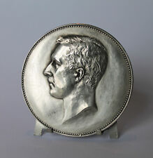 Médaille Albert 1er en Argent de 1930